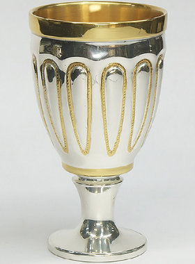 SILVER CUP FOR WINE